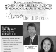 Donalsonville Hospital Ad