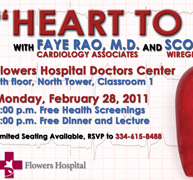 Flowers Hospital - Heart to Heart Advertisement