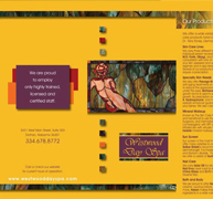 Westwood Day Spa Brochure