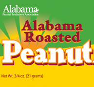 Alabama Roasted Peanuts Bag Design
